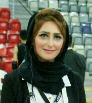 Eman Salehi, 28, was shot dead inthe Bahraini city of Riffa. Activists have shared this photo of her online