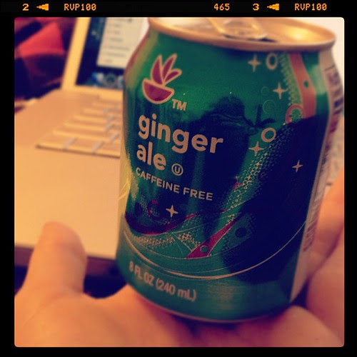 Could these mini ginger ale cans be any cuter?