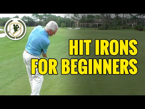 Guideline For Beginners On How To Hit Irons In Golf