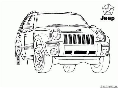boyama sayfasi evrensel jeep