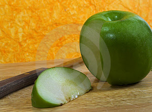Stock Images: Apple Slice Picture. Image: 29984