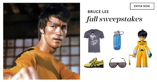 THE BRUCE LEE FALL SWEEPSTAKES