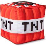 "Minecraft 14""x14"" TNT Cube Red Cushion"