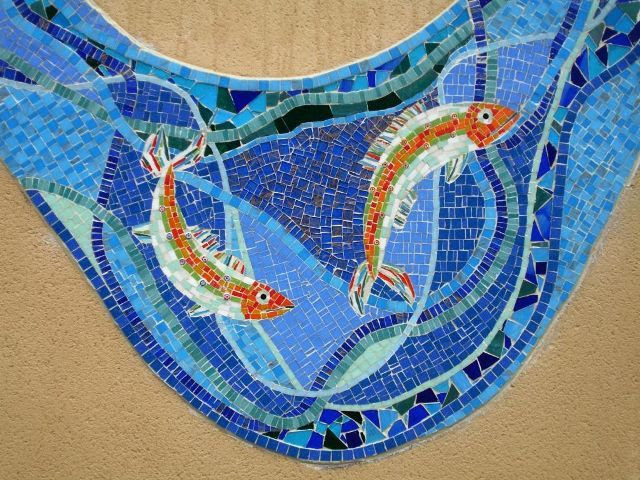 Springfield Project mosaic ~ by Amanda Anderson and Johanna Potter