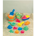 Small World Toys Swt4830311 15-Piece Toddler Sand Assortment