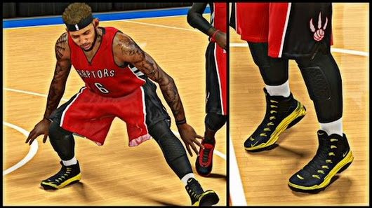 NBA 2K15 MyCAREER S3 - NEW OG Gold Black Nike CamGods ! | Cam Bringing Back  The Headband SWAG !