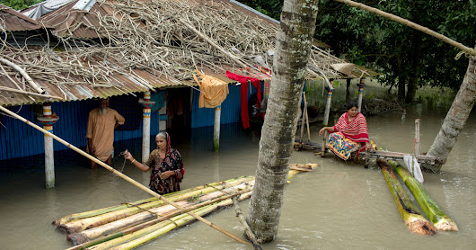 In Bangladesh, a Flood and an Efficient Response - The New York Times