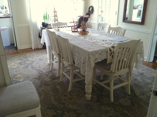 New Dining Room Carpet