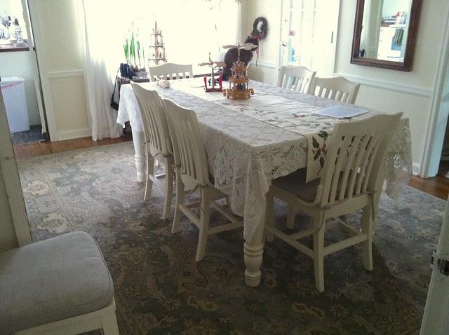 New Dining Room Carpet