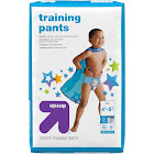 Up & Up Boys' Training Pants, 4T-5T - 19 count
