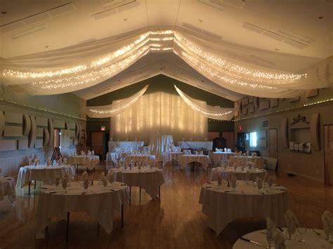 Readymade Community Hall Vintage Wedding #