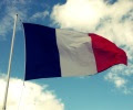French_flag_cloudy