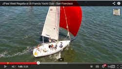J/Fest sailing video of J/105s, J/70s and J/120s