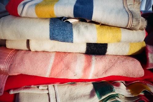 flea market blankets