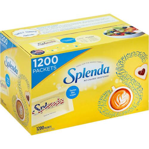 Splenda No Calorie Sweetener 1200 Count Google Express