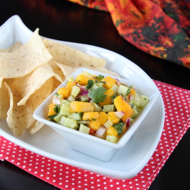 Mango Cucumber Salsa | Cooks Joy