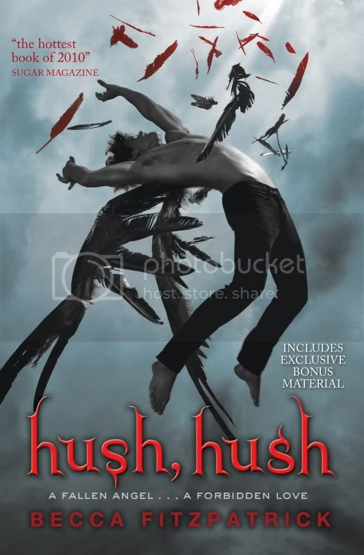 hush, hush by becca fitzpatrick in paperback