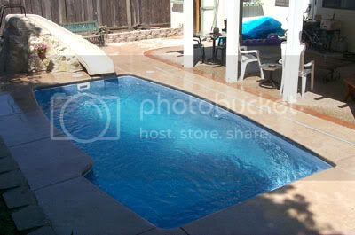 Classic Pool Shape - Clearwater Home Interior Design