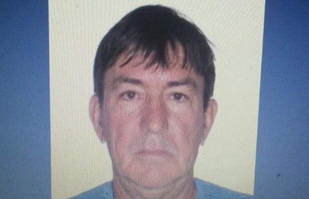 Gilberto Ferreira do Amaral suspeito de matar o Zé Gomes da Rocha, em Itumbiara, Goiás (Foto: Reprodução)