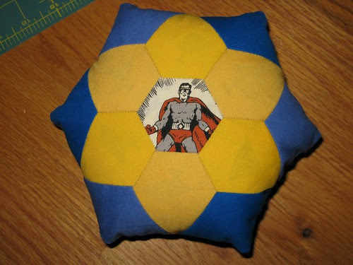 EPP superhero pillow
