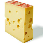 Superbe Swiss Emmentaler Center Cuts, 15 lb.   By Supermarket Italy