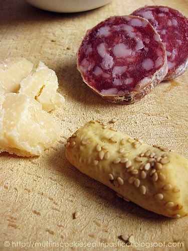 Bibanesi, salame e Parmigiano