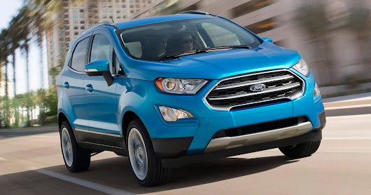 Ford's new EcoSport SUV will be imported from India