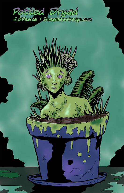 Daily art: Potted Dryad