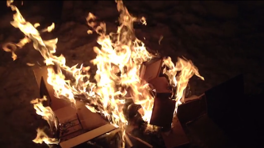 This Artist Is Burning Books That Kickstarter Backers Paid For... - Digital Music News