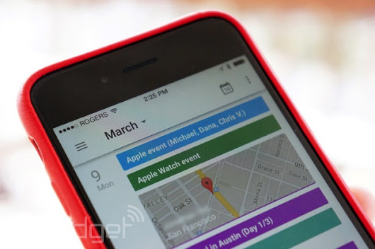 Google Calendar comes to the iPhone