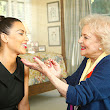 PHOTO: Betty White Does Kim Kardashian's Makeup