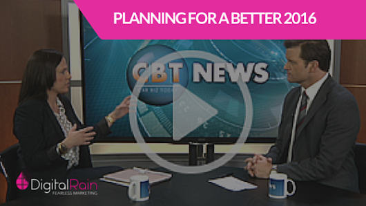 April Rain on CBT News: Planning for a Better 2016