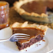 Caramel Brownie Pie |