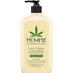 Hempz Herbal Body Moisturizer, Sweet Pineapple And Honey Melon - 17 fl oz bottle