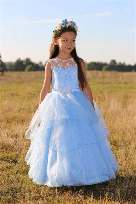 Best 25  Blue flower girl dresses ideas on Pinterest