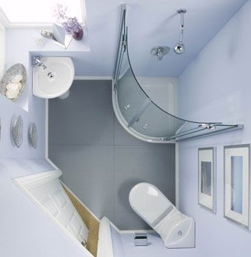Inside a Small, Modern Bathroom - Tiny House Pins