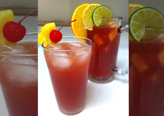 Cocktail Rum Punch Recipe - Yummy food recipes