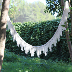 Macrame Bunting via wavesnme on Etsy
