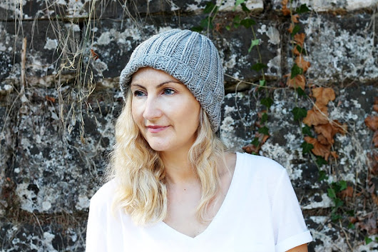 Easy Beginner Hat Knitting Pattern | Free Knitting Patterns | Handy Little Me