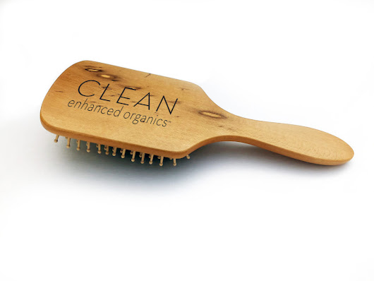 CEO Bamboo Paddle Brush - Clean Enhanced Organics