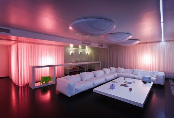 Magic Lighting Interior Design Apartment