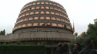 L'exterior de l'edifici del Tribunal Constitucional