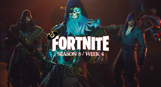 Fortnite Season 8 Week 4 challenges: Outlast opponents, eliminations, and more
