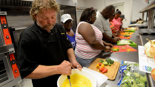 Cook healthy to combat hunger