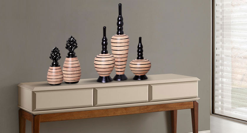 Resultado de imagem para aparadores com vasos