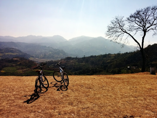 Cycling to Dakshinkali, Nepal - My Holiday Nepal Travel Blog