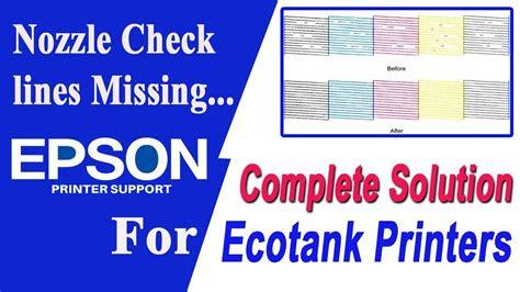 epson printer  printing properly printing blank youtube