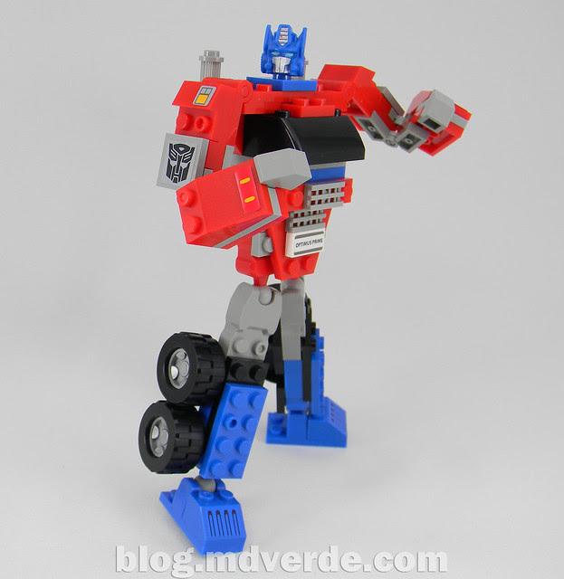 Transformers Optimus Prime Kre-O - modo robot