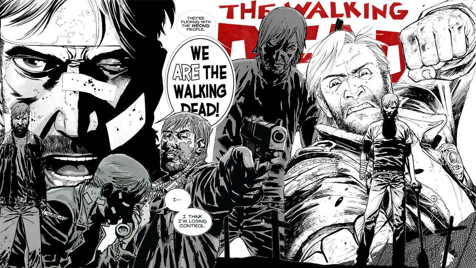 Wallpaper For All You Walking Dead Comic Fans Thewalkingdead