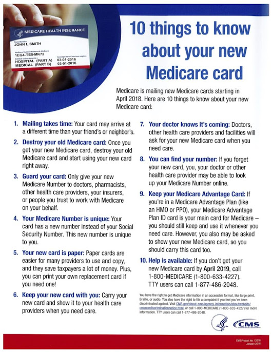 Important Information about Medicare's New Card for Seniors - 24|7 Nursing Care
